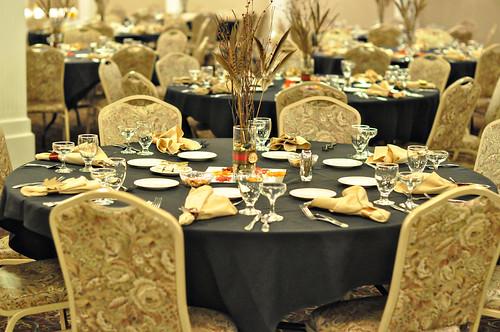 Kim & Brent Wedding Reception Tables