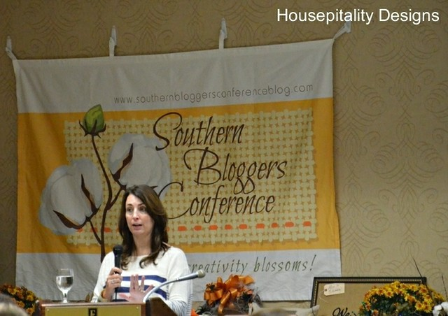 Kelly at Southern Bloggers Conference