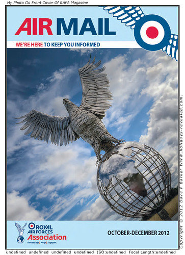 My Photo On RAFA Airmail Magazine Front Cover by Just Daves Photos