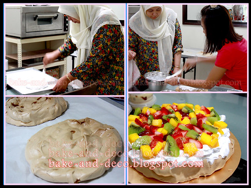 Baking Class: Pavlova + Lapis Cheezy + Tutty fruity Cream Dessert ~ 22 May 2012