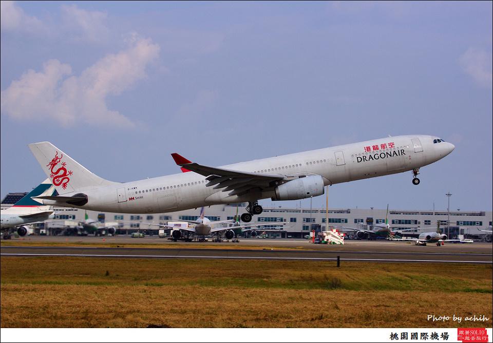 Dragonair / B-HWK / Taiwan Taoyuan International Airport