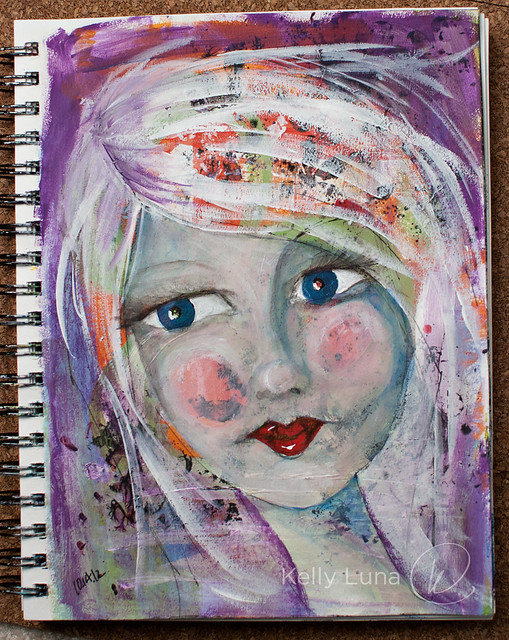 Art Journal 10-15-12-painted face