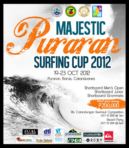 MAJESTIC SURFING CUP 2012 Poster