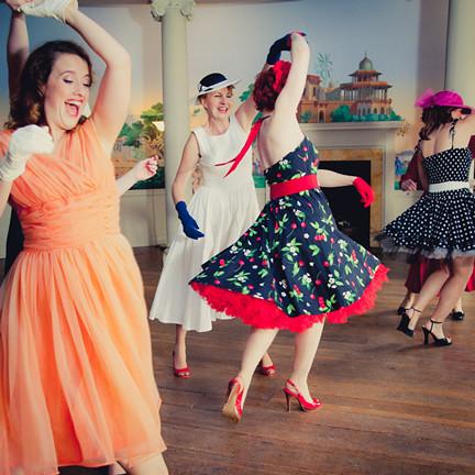 1950s Fashion History Womens Clothing  Vintage Dancer