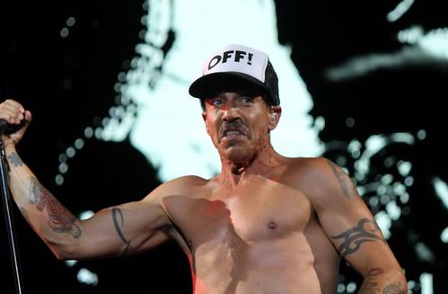 RHCP's Anthony Kiedis off