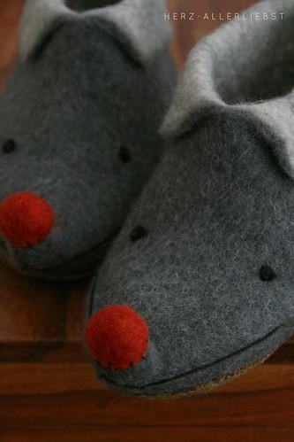 Mäuseschuhe