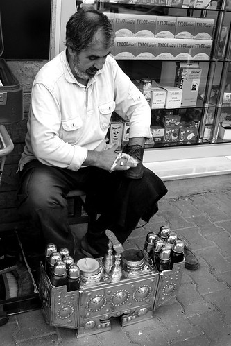 Shoeshiner in Istanbul
