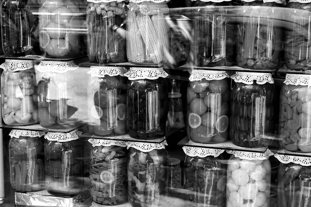 Pickled vegetables in Istanbul