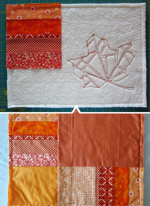 placemat backing