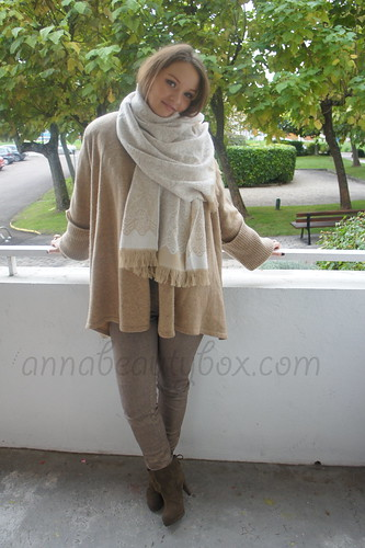 OOTD warm beige & brown