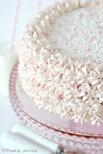 Raspberry cake