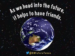 As we head into the future, it helps to have friends @RNFutureTense