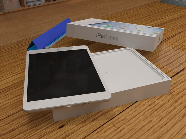 iPad mini unpacking 02