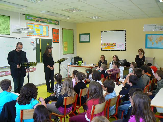 Une classe de primaire - © verdon-info / Flickr CC.
