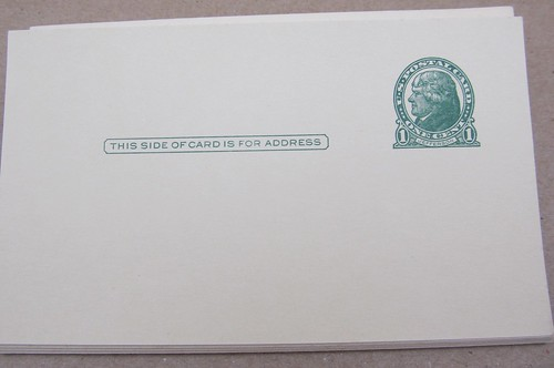 Thomas Jefferson USPS Postal Card