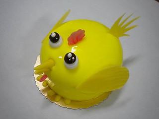 生日蛋糕 可愛小雞