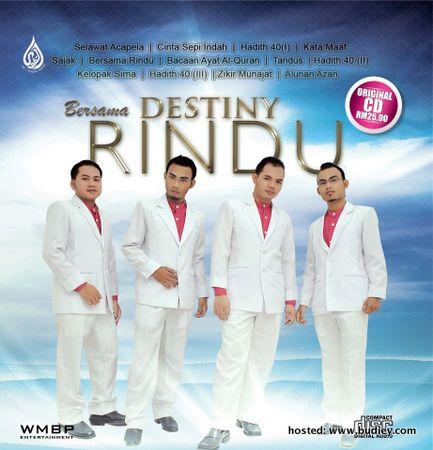 Kumpulan Nasyid Destiny Muncul Album Kedua BERSAMA RINDU