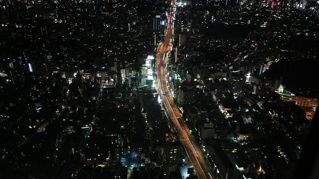 Night view from Roppongi Hills, Tokyo