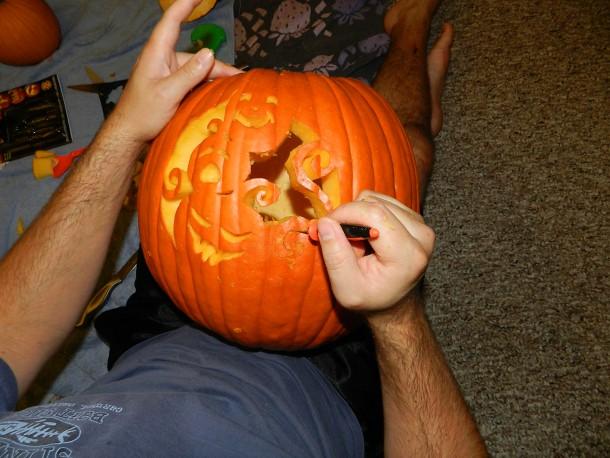 Pumpkin Carving 2012