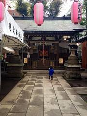 お祭りの朝の恵比寿神社 (2012/10/19)