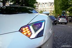 White Chrome Aventador... & Aston-Martin Cygnet