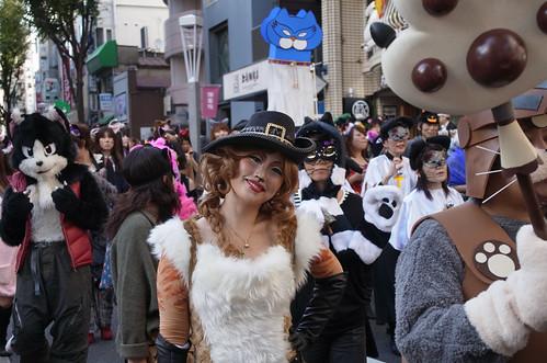 Kagurazaka Cat Halloween 2012-04