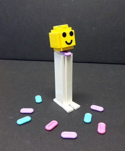 LEGO Pez Dispenser