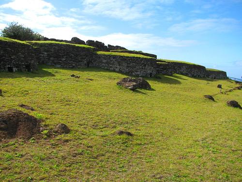 Aldea restaurada de 'ORongo