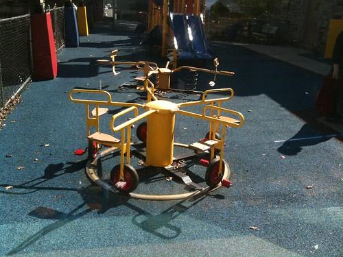 Pedal-go-round