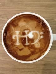 Today's latte, HBase. #geeklatte