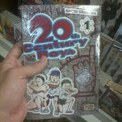 Woooow! 20th Century Boys, do Urasawa, no Brasil! MUST BUY!!! :DDD