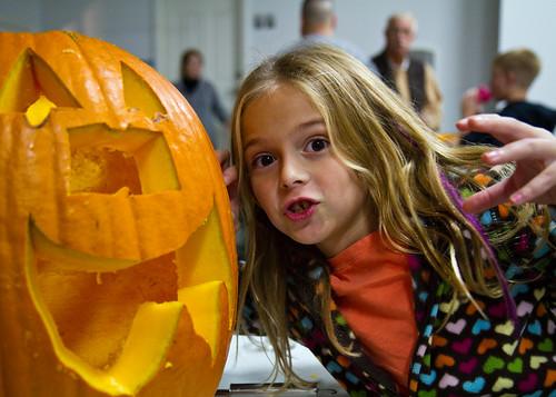 Ryen and Her Pumpkin