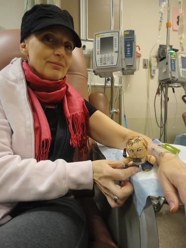 Tiny Daryl Dixon comes to Chemo