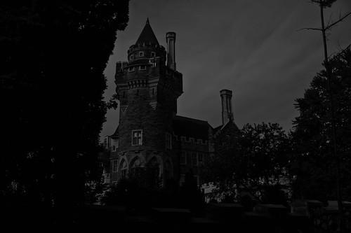 The Dark Foreboding Castle