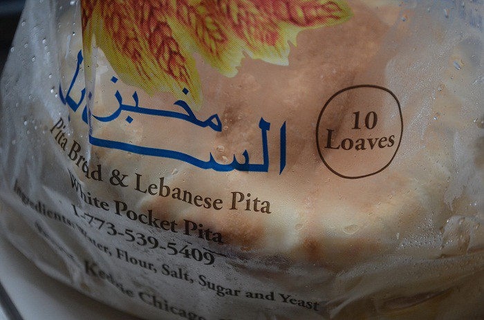 Pita Bread in Bag