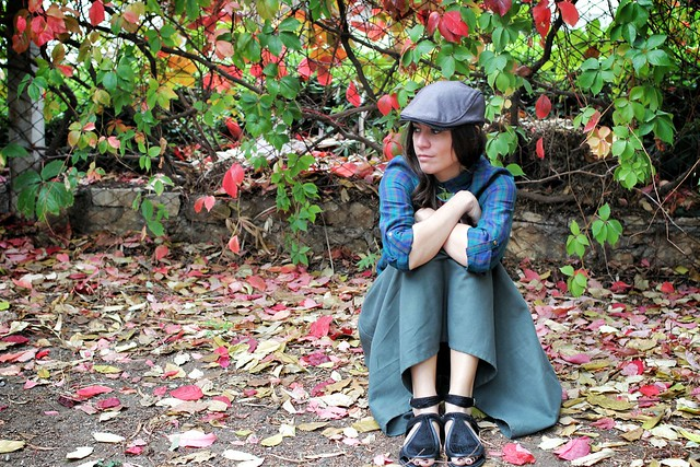 autumn, leaves, outfit, Isabella Mazzeranghi, Zara, Ted Baker, Camilla Skovgaard, Harvey Nichols