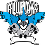 Clip Art Illustration Of A Bluejay Mascot