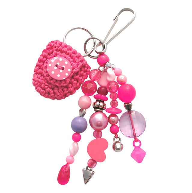 Pink Keychain Roze Sleutelhanger Flickr Photo Sharing
