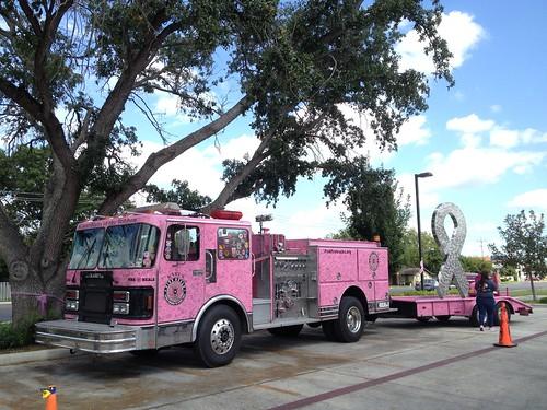 Pink Heals Tour Truck & Ribbon