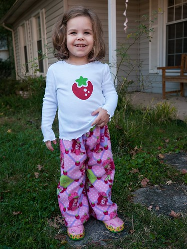 Strawberry Shortcake jammies