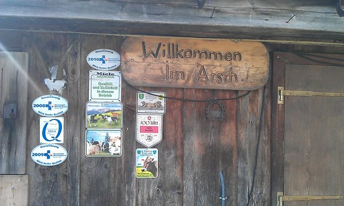 """""""Willkommen im Arsch"""""""