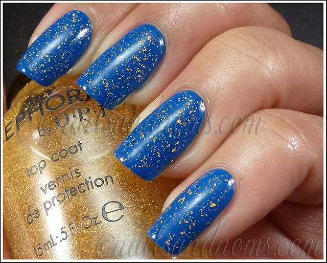 Sephora It's Real and Barry M Cobalt Blue 3