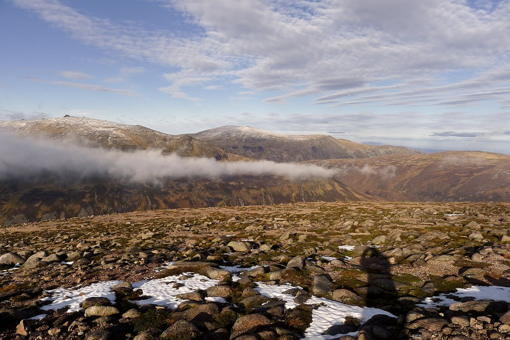 Cairn Gorm fromfrom Beinn a' Chaorainn