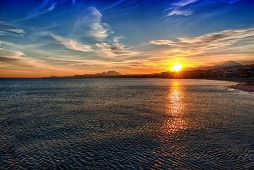 morning sea sky clouds sunrise greece crete rethymno κρήτη ελλάδα σύννεφα θάλασσα ανατολή πρωινό ρέθυμνο ουρανόσ