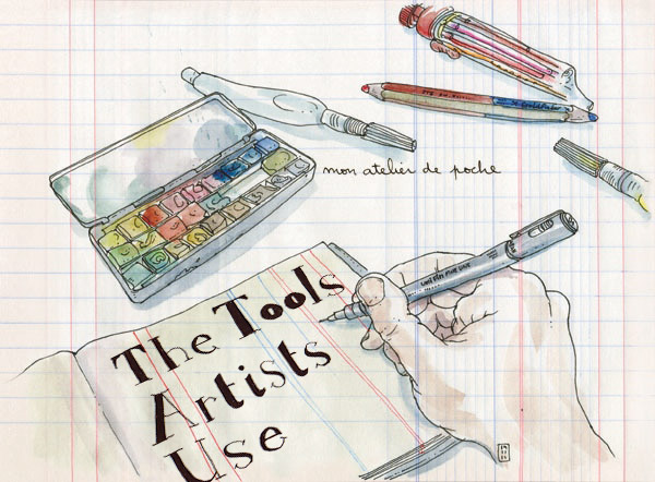 the tools artists use