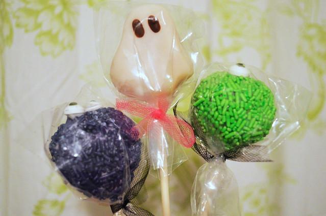 Spooky Cake Pops