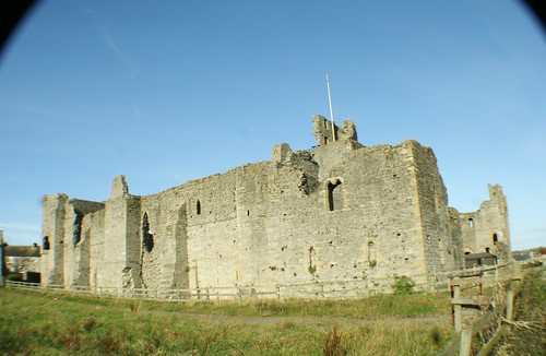 South Wall of Middleham Castle