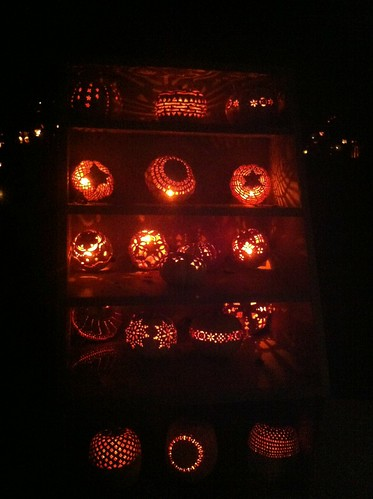 Blaze - pumpkin display