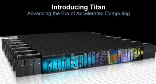 Titan - самый быстрый суперкомпьютер с чипами Nvidia и AMD