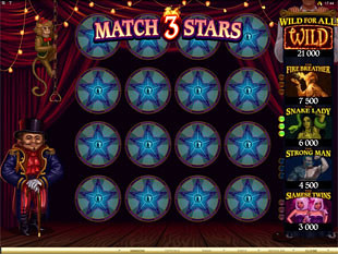 The Twisted Circus Match Bonus
